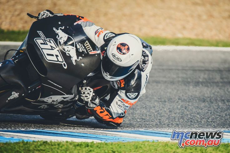 Regular tester Mika Kallio and 2017 rider Bradley Smith complete the final MotoGP testing of the year for KTM at Jerez before the December/January testing ban