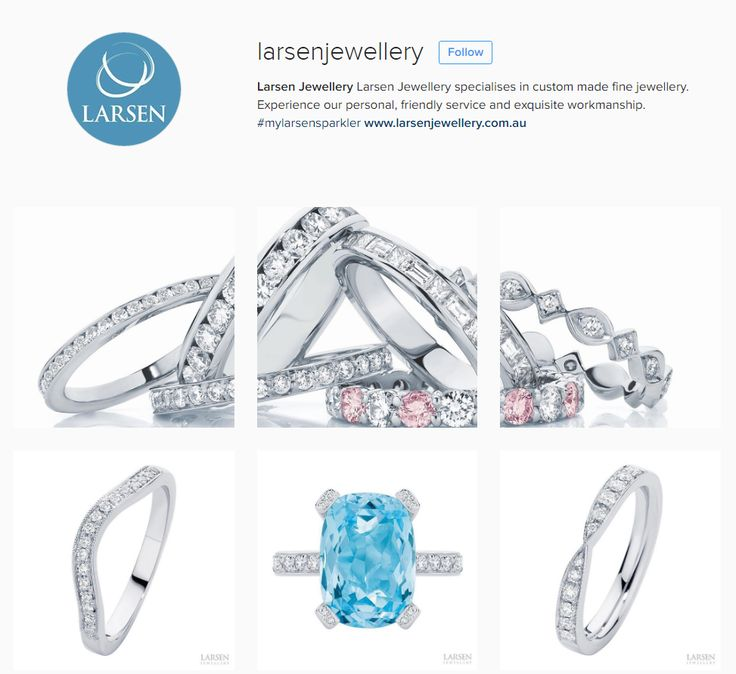 Find us on Insta and show some love! xo  @larsenjewellery