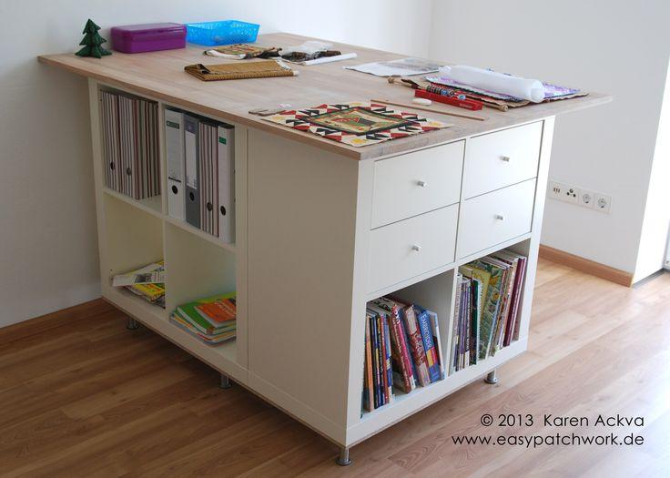 Arbeitszimmer ikea expedit  Die besten 20+ Kallax schreibtisch Ideen auf Pinterest | Ikea ...