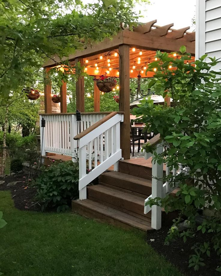 """3,216 Likes, 77 Comments - Sarah @ Thrifty Decor Chick (@thriftydecorchick) on Instagram: """"How lucky are we to have this little oasis right in our backyard? What a gorgeous night!! ✨"""""""