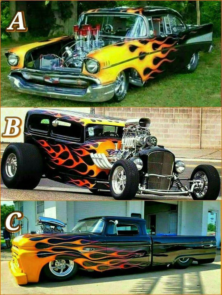 295 best Hot Rod Flames images on Pinterest | Bespoke cars, Car ...