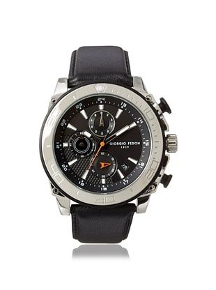 55% OFF Giorgio Fedon 1919 Men's GIOGFBC005 Speed Timer III Black Stainless Steel Watch