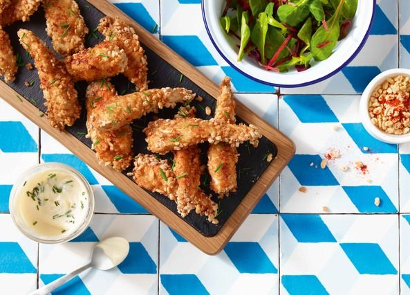 Want to add a crispy edge to your chicken goujons recipe with rice pops? Visit Homemade today for more recipes