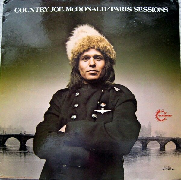 Country Joe McDonald - Paris Sessions (1973)