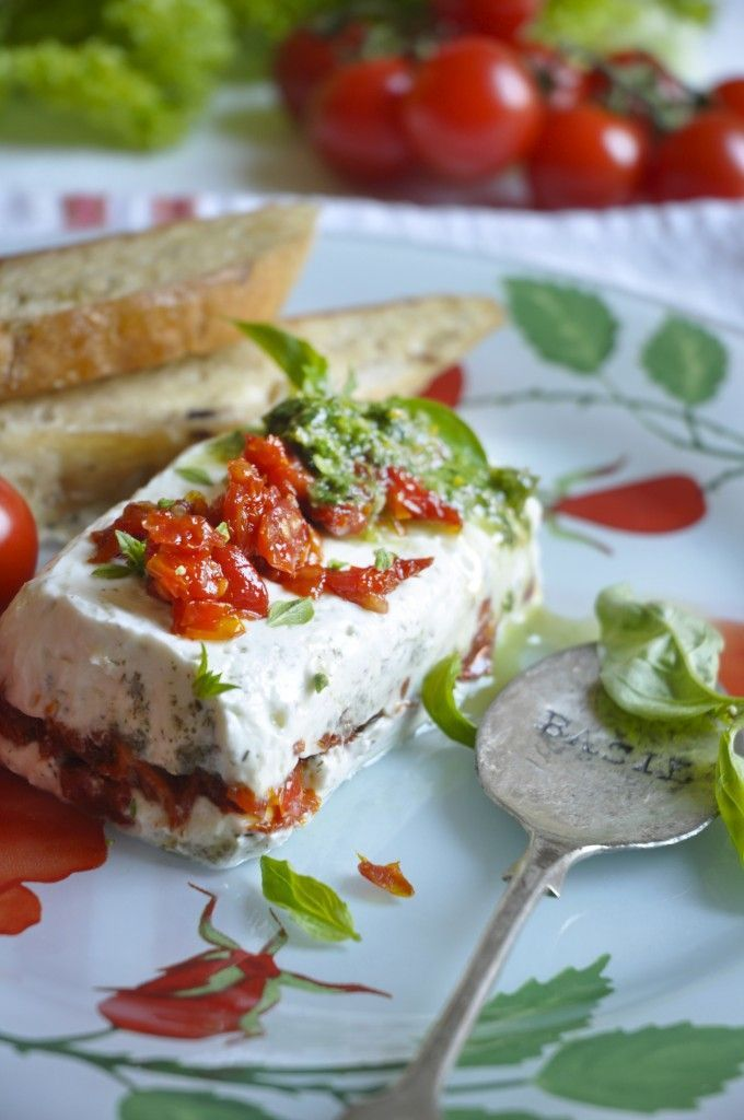 235 best images about terrines verrines on pinterest for Tomato terrine