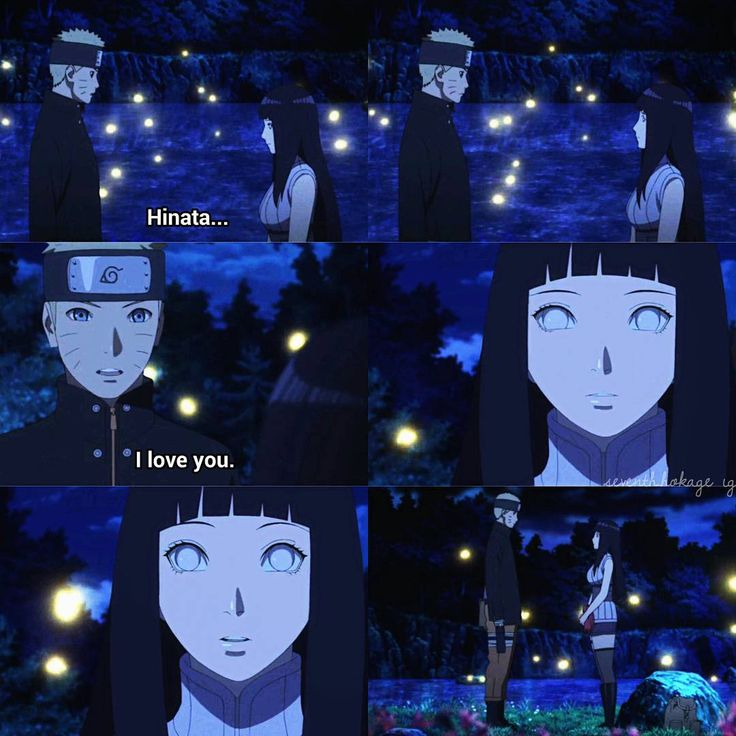 Naruto's Love Confession To Hinata He's Such A Sweetie