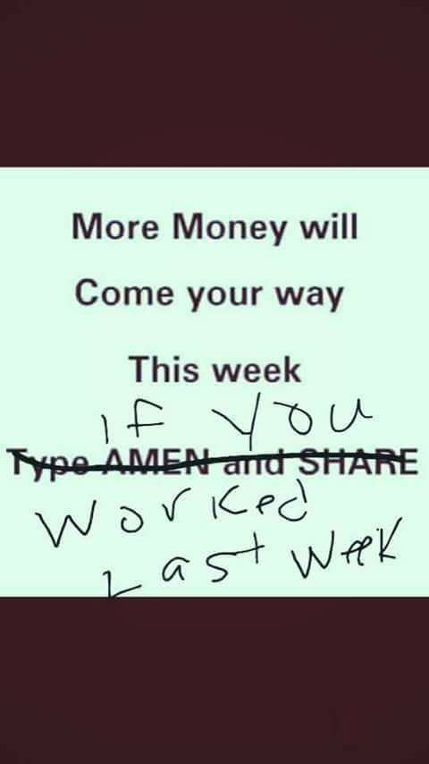 more money will come your way this week...