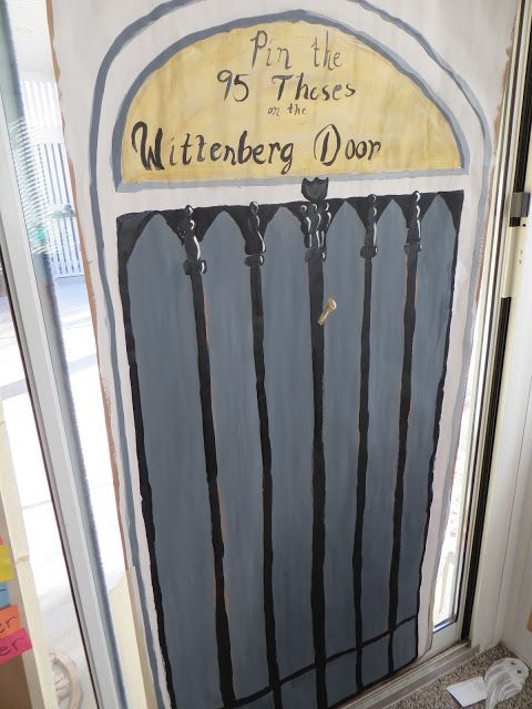 Pin Martin Luthers 95 Thesis to the church door ideas for Reformation Day Party & 22 best Reformation Day/Martin Luther images on Pinterest ...