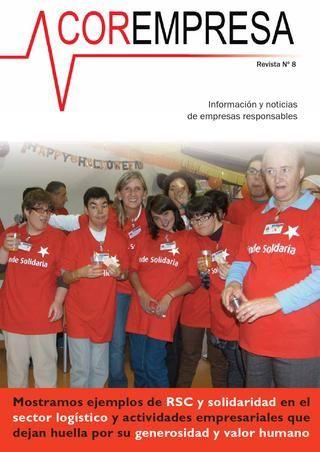 Revista Corempresa Nº 8  Revista sobre mecenazgo, filantropía, patrocinio y responsabilidad empresarial