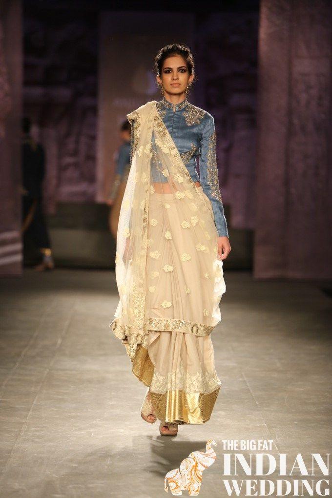Anju Modi India Couture Week 2014 10 width=