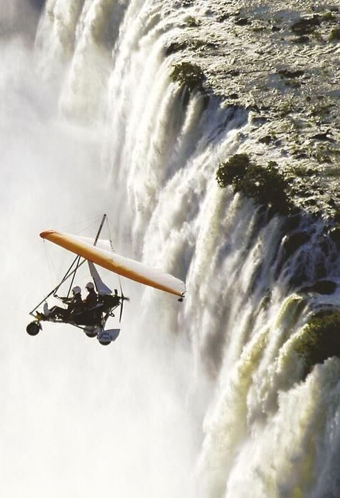 As the mighty Victoria Falls tumbles into the Batoka Gorge, let your microlight pilot swoop you up into the heavens for the most epic view of the Falls available. You can sign up for a 12-15 minute (short flight) or a longer 30-minute flight that launches over the Zambezi River. Timbuktu Travel.