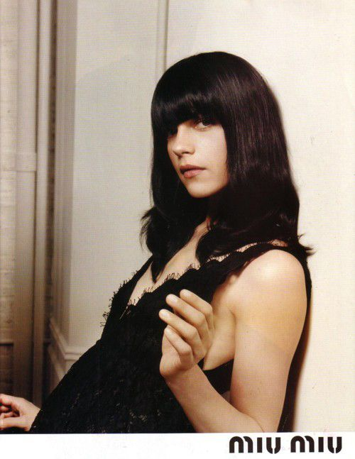 Selma Blair for miu miu