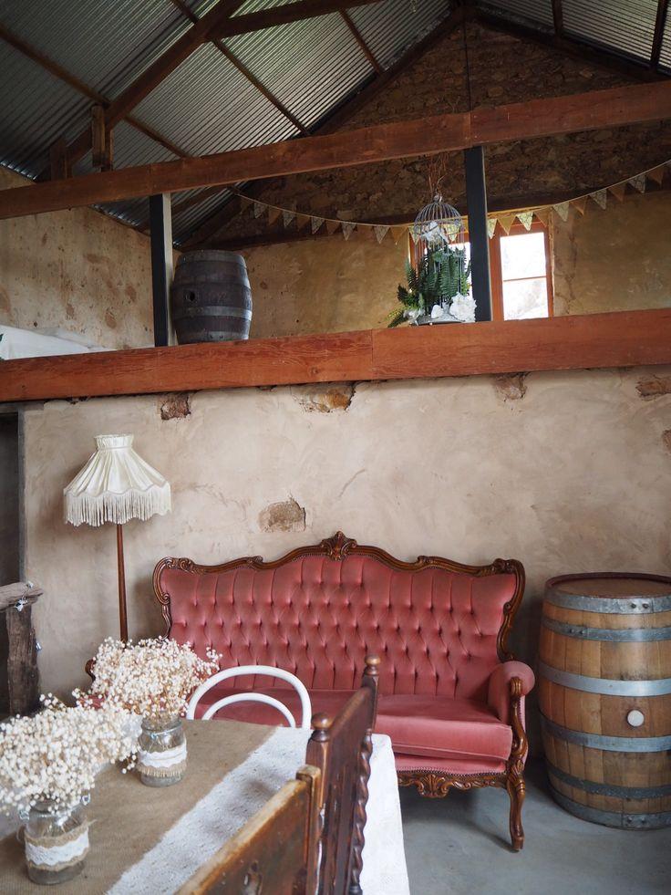 Barn1890 mezzanine from main floor