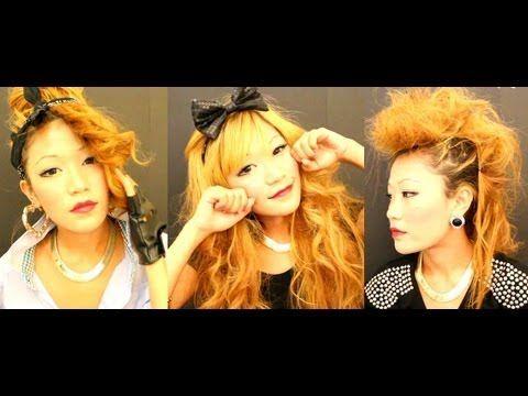 Tsubasa masuwaka Gyaru,Rihanna's 'we found love' bandana Hair tutorial - YouTube