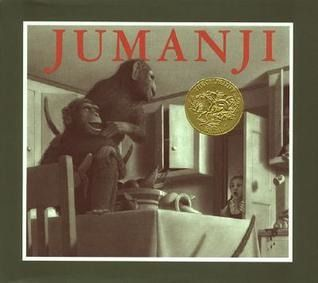 """Jumanji"", by Chris van Allsburg - The game under the tree looked like a hundred others Peter and Judy had at home, but they were bored and restless enough to try it. Little did they know, they were about to be plunged into the most exciting and bizzarre adventure of their lives."