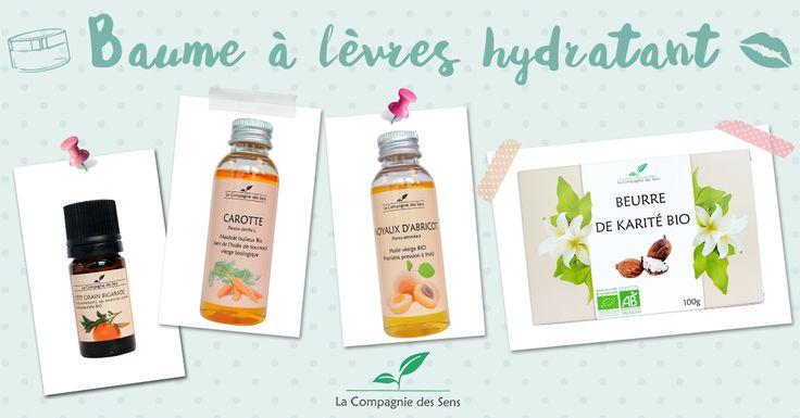 DIY baume à lèvres hydratant avec des huiles essentielles et végétales pour nourrir vos lèvres en profondeur