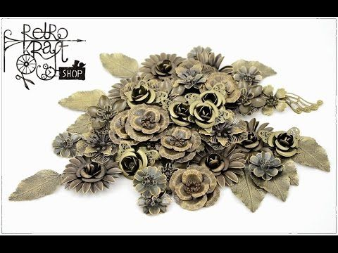 Krótkie zbliżenie na nasze metalowe kwiaty i to, co można z nimi zrobić. A short close-up of our metal flowers and what you can do with them. http://www.retrokraftshop.pl/pl/36-metalowe