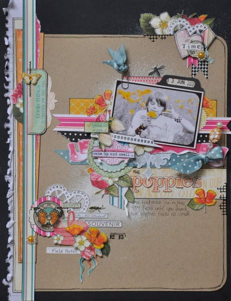 By DT member Emma Trout using Webster's Pages Sunday Picnic for Feb GDT liftScrapbook Ideas, Crafts Ideas, Scrapbook Inspiration, Art Journals, Beautiful Layout, Emma Trout, Crafty Inspiration, Scrapbook Layout, Scrapbook Pages