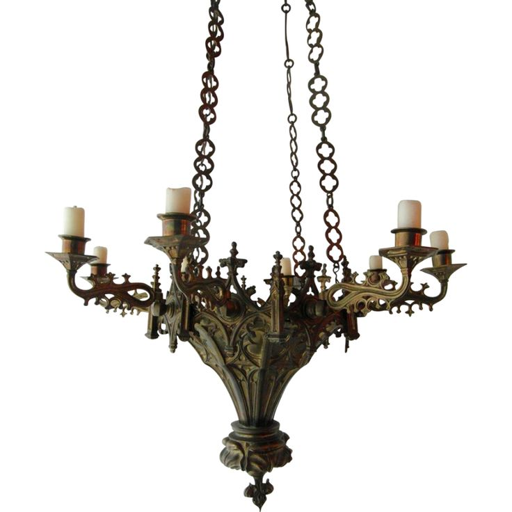 47 Best Gothic Chandeliers For Decorations Images On
