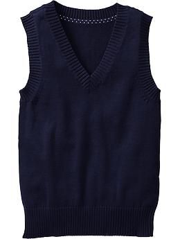 Girls Uniform Sweater Vests - Rank #4
