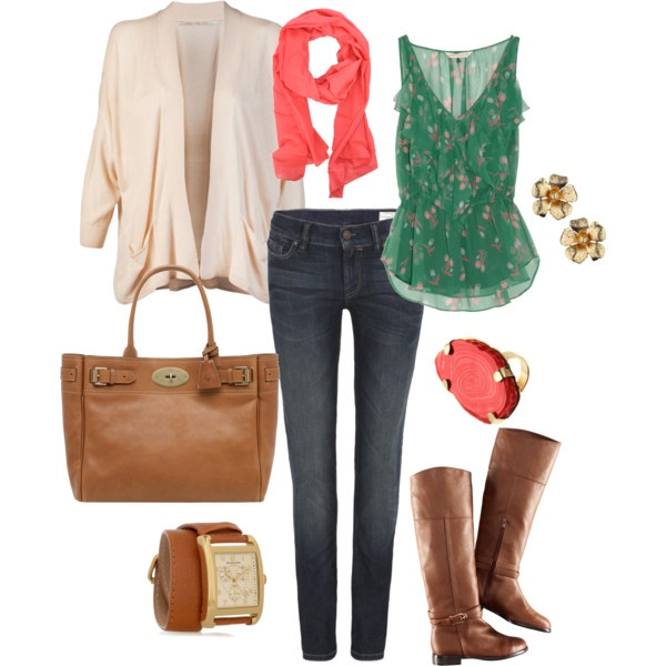 Fall outfit: Colors Combos, Autumn Outfit, Schools Outfit, Cute Outfits, Colors Combinations, Riding Boots, Fall Outfit, Everyday Outfit, Dreams Closets