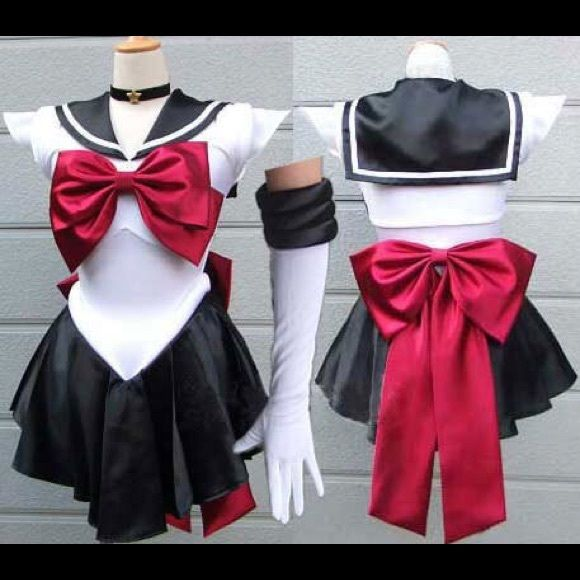 Sailor Pluto Costume Worn only once. In great condition. Super adorable costume, very figure flattering. comes with everything even headpiece. tag for exposure UNIF Dresses Mini