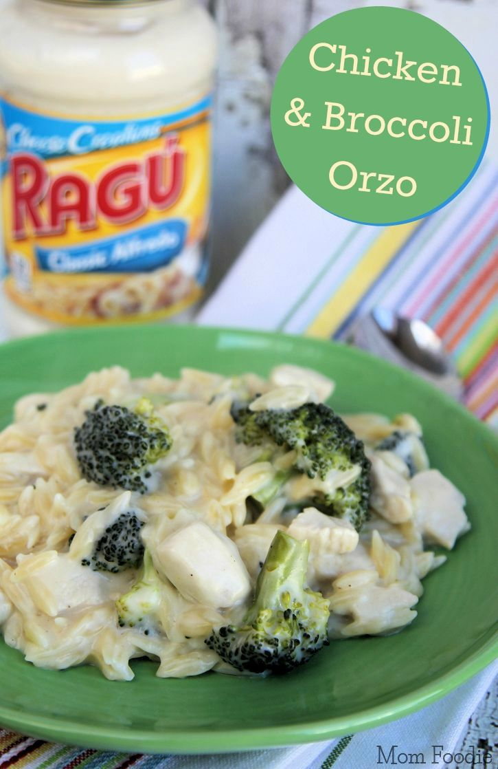 Chicken And Broccoli Alfredo Orzo One Pot Recipe  Food -4545
