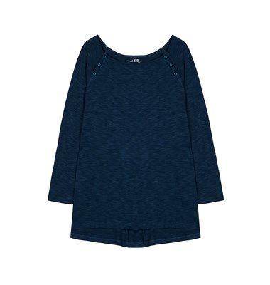 Βasic flannel blouse with buttons