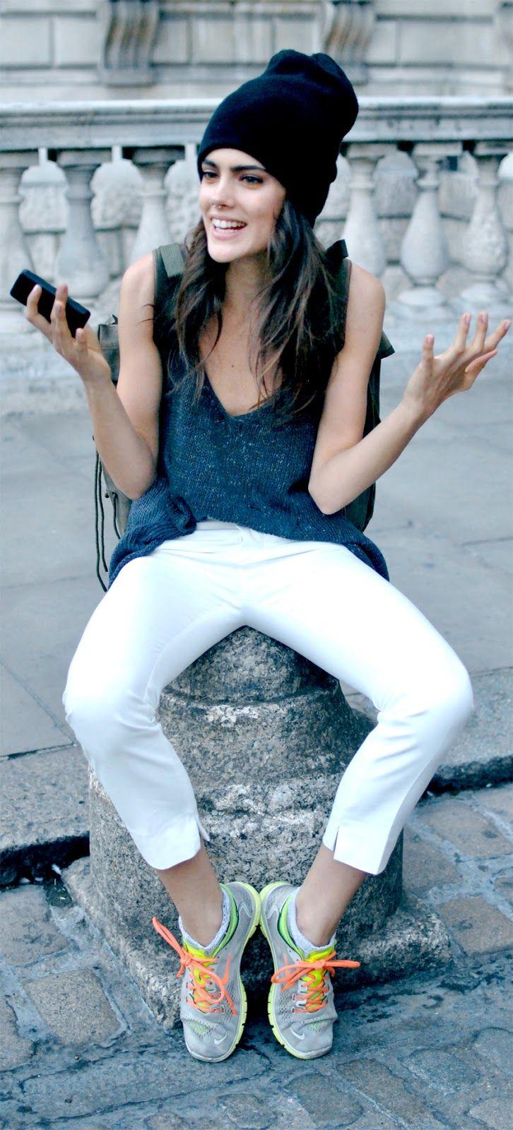 Photo by ediot  Taja feistner model model off duty London fashion week lfw londonfw