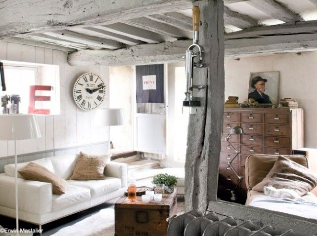 Deco campagne cosy d co campagne country decor pinterest vintage space chang 39 e 3 and for Decoration petite maison