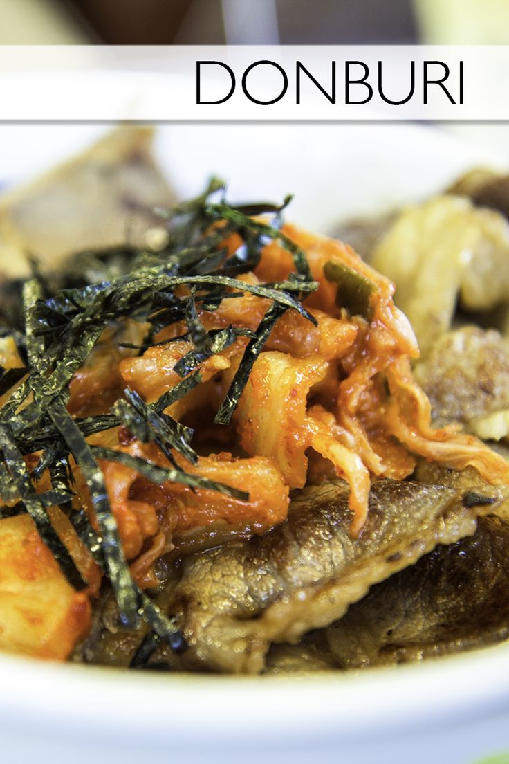 Everything you need to know about the Japanese food, donburi!