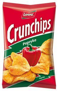 Klasyczny smak :)  #Crunchips #chips #papryka #paprika