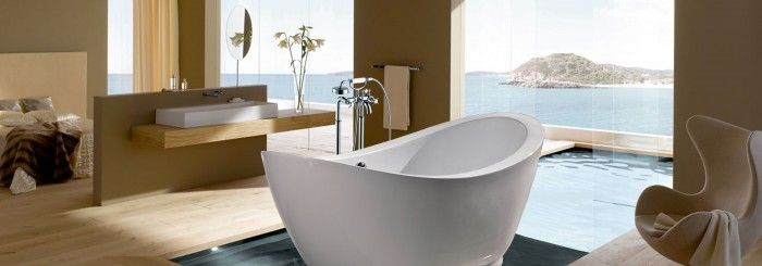 19 best images about tendances salles de bain 2015 on for Bathroom designs latest trends