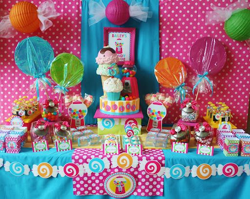 Candy Shop Theme