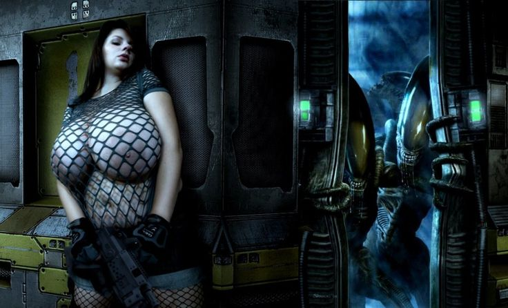 Nadine Jansen - Xenomorph Hunter 4