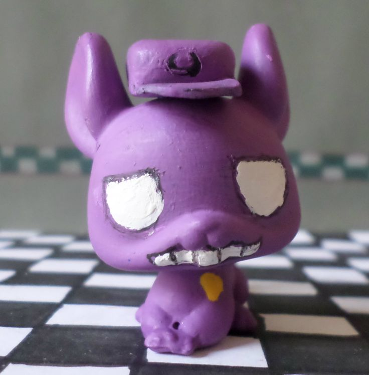 LPS Fnaf 1 Purple Man Custom