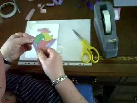 How to do Iris folding