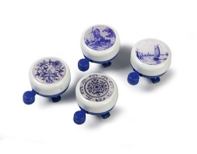 delft blue bicycle bell