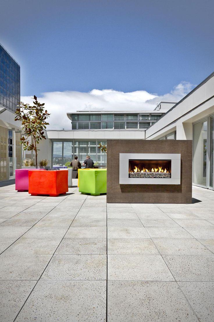 Escea Outdoor Fireplace