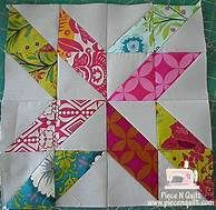 half square triangle quilt block patterns - Yahoo Image Search Results
