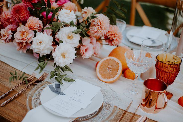 Wedding ceremony of the Day: A Boho Dinner Get together on the Inn at Rancho Santa Fe