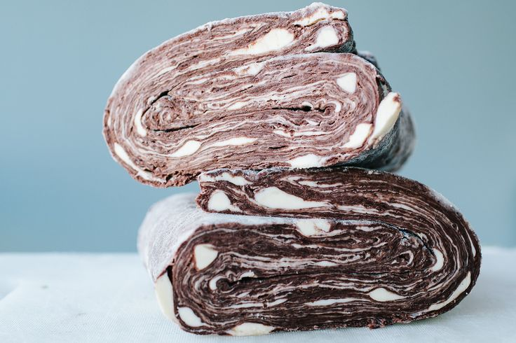 Quick Chocolate Puff Pastry Recipe - http://food52.com/blog/12854-to-improve-puff-pastry-just-add-chocolate