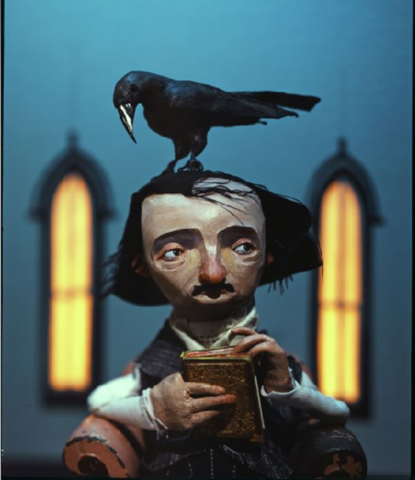 Quoth the Raven... Nevermore. This is some sweet claymation by Chris Sickels