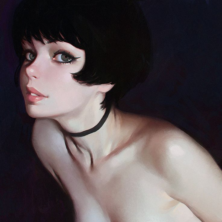 Underbart, Ilya Kuvshinov on ArtStation at https://www.artstation.com/artwork/underbart