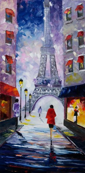 """"""" An evening at the Eiffel Tower """""""