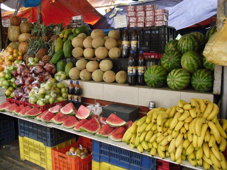 Markt auf Curacao