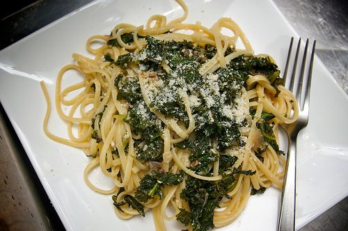 Pasta with Braised Kale | Recipes - Mains | Pinterest