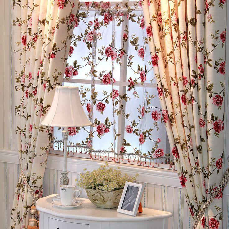 $13.94 flower pattern curtain from zzkko.com
