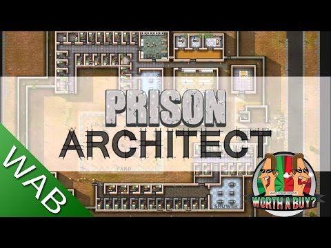 Prison Architect  לא, לא ראיתי עד הסוף כי פשוט הקונספט ניראה לי דיכאוני מדי.  Prison Architect Review - Worth a Buy? - YouTube
