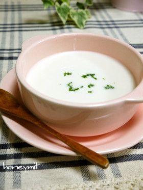 じゃがいもの冷たいスープ☆